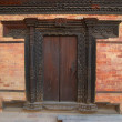 Old wooden door — Stock Photo #2553075
