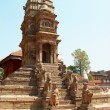 Temple of Baktaphur city, Nepal — Stock Photo