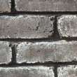 Gray grunge brick wall — Stock Photo