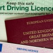 Passport and Licence — Stock Photo #1617446