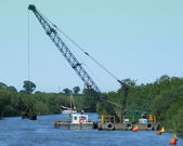 Dredging Machine 1 — Stock Photo