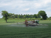 Crop Spraying C3 — Stock Photo
