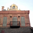 Roof and balcony in european style — Stock Photo #1622042