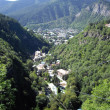Stock Photo: Borjomi city canyon