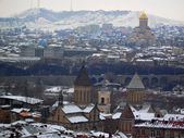 Winter in Tbilisi — Stock Photo