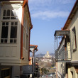 Stock Photo: Balconies of Tbilisi