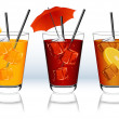 Royalty-Free Stock Imagem Vetorial: Drinks