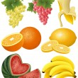 Royalty-Free Stock Vector Image: Fruits