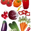 Stockvector : Vegetables