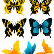 Butterflie set — Stock Vector #1638450
