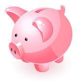 Piggy bank — Stock Vector