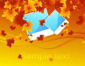 Autumn_photos — Stock Vector