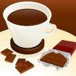 Royalty-Free Stock Vector Image: Coffee and chocolate