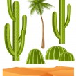 Royalty-Free Stock Vector Image: Cactus set