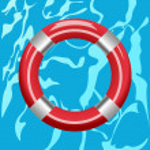 Ring buoy — Stock Vector