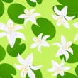 Royalty-Free Stock Vector Image: Seamless lily background