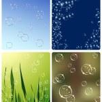 Soap_bubbles — Stock Vector