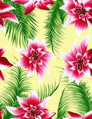 Fundo transparente folha tropical — Vetorial Stock