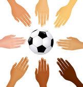 International football — Vettoriale Stock
