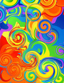 Abstract rainbow background — Vecteur