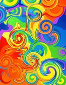 Fundo abstrato arco-íris — Vetorial Stock
