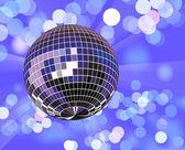 Bola de discoteca em luz desfocado — Vetorial Stock
