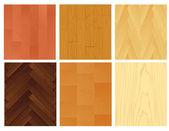 Página sobre fundo de madeira — Vetorial Stock