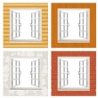 Royalty-Free Stock Vector Image: Open window set