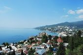 Yalta. Polikurovskiy hill. General view — Stock Photo