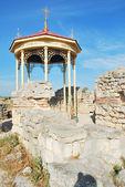 Ruins of ancient Chersones — Stock Photo