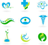 Collection of medical icons — Vector de stock