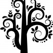 Royalty-Free Stock Vector Image: Vector tree silhouette