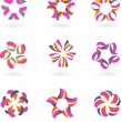 Royalty-Free Stock Vector Image: Abstract icon and logo set  - 2