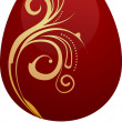 Royalty-Free Stock Vector Image: Easter chocolate egg