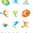 Royalty-Free Stock Vector Image: Sports icon collection - 2