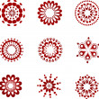 Royalty-Free Stock Vector Image: Collection of lace icons