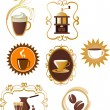 Coffee icons set - 4 — Stock Vector #2617997