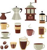 Coffee icons set - 3 — Stock Vector