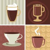 Coffee icons set - 2 — Stock Vector