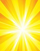 Sunburst super-nova — Stock Photo