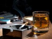 Drinking at night — Stock Photo