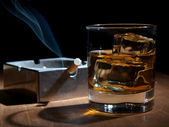 Smoking and drinking — Stock fotografie