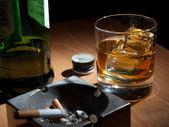 Night booze — Stock Photo