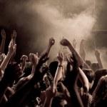 koncertem — Zdjęcie stockowe #1690074