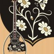 Stock Vector: Bouzouki