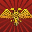 Two headed eagle — Imagen vectorial
