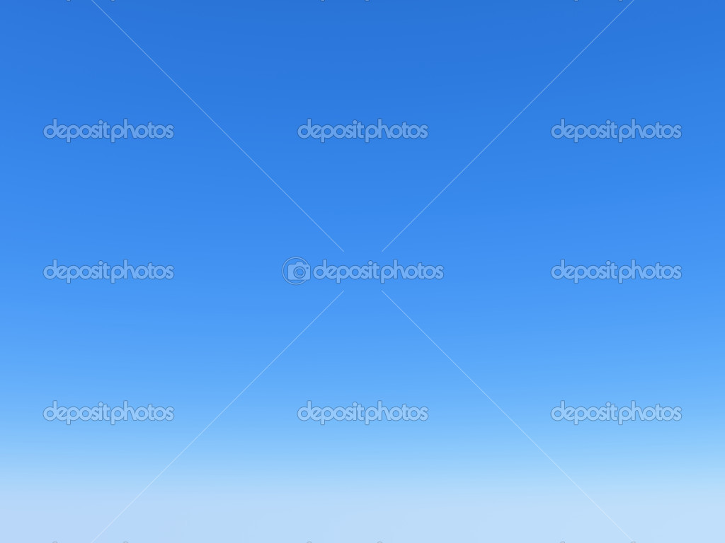 Clear bright blue sky — Stock Photo #2549968
