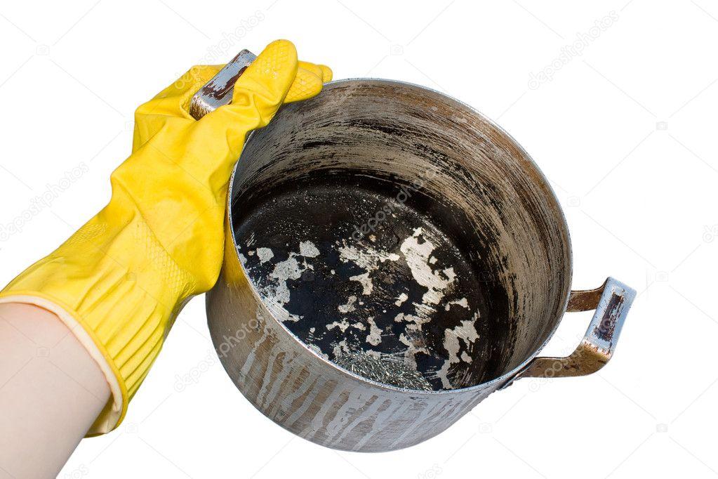Что делать если кастрюля пригорела в Нее,Серове,Богатых Сабах