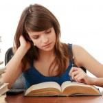 Teen girl learning — Stock Photo #1618294