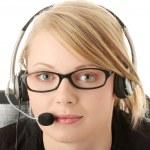 Customer service operator — Stock Photo #1619761